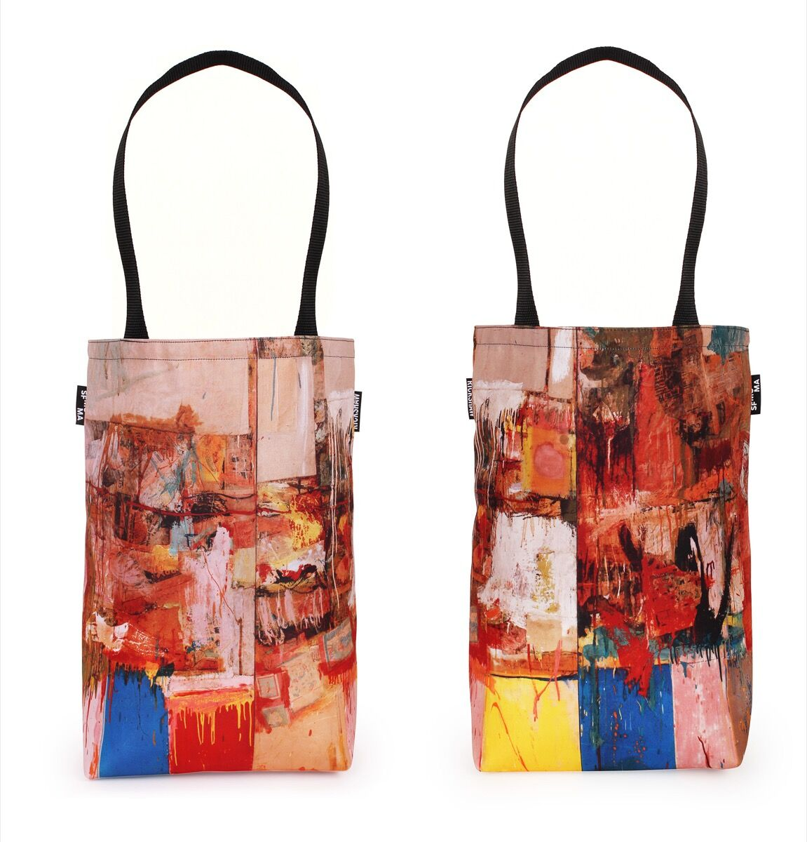 Rauschenberg Collection Tote. Courtesy of SFMOMA.