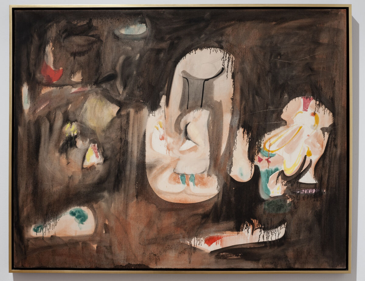 Arshile Gorky, Pastoral, ca. 1947. Photo by Constance Mensh for the Philadelphia Museum of Art. © 2017 The Arshile Gorky Foundation / Artists Rights Society (ARS), New York. Courtesy of The Arshile Gorky Foundation and Hauser & Wirth.