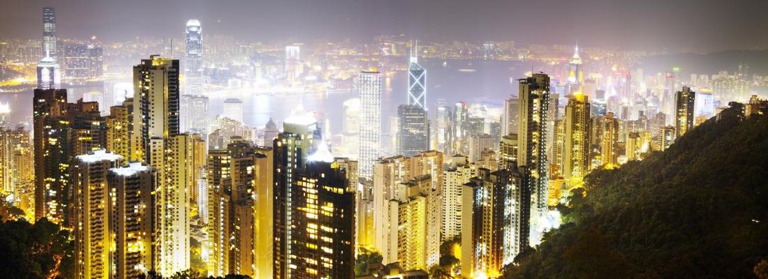 David Drebin,Hong Kong Lights, 2010. Image courtesy of Contessa Gallery.