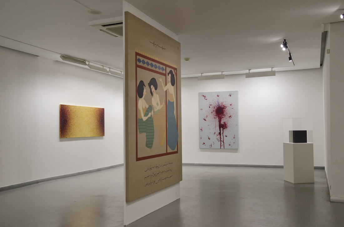 "Installation view of ""Minor Heroisms,"" courtesy of Galeri Zilberman"