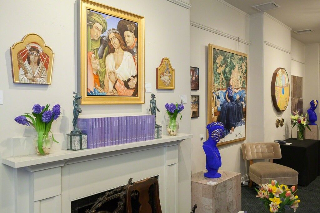 """Works featured in""""The Art of Scandal: What Might Isabella Stewart Gardner Collect Today?"""" Image courtesy of Childs Gallery."""