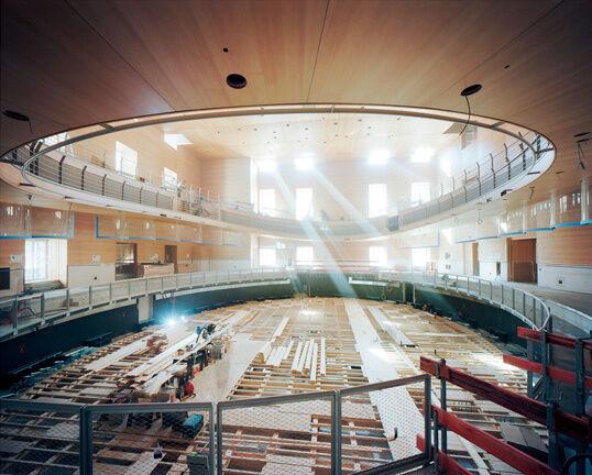 Pierre Boulez Saal, September 2016 © Volker Kreidler. Courtesy of Gehry Partners.