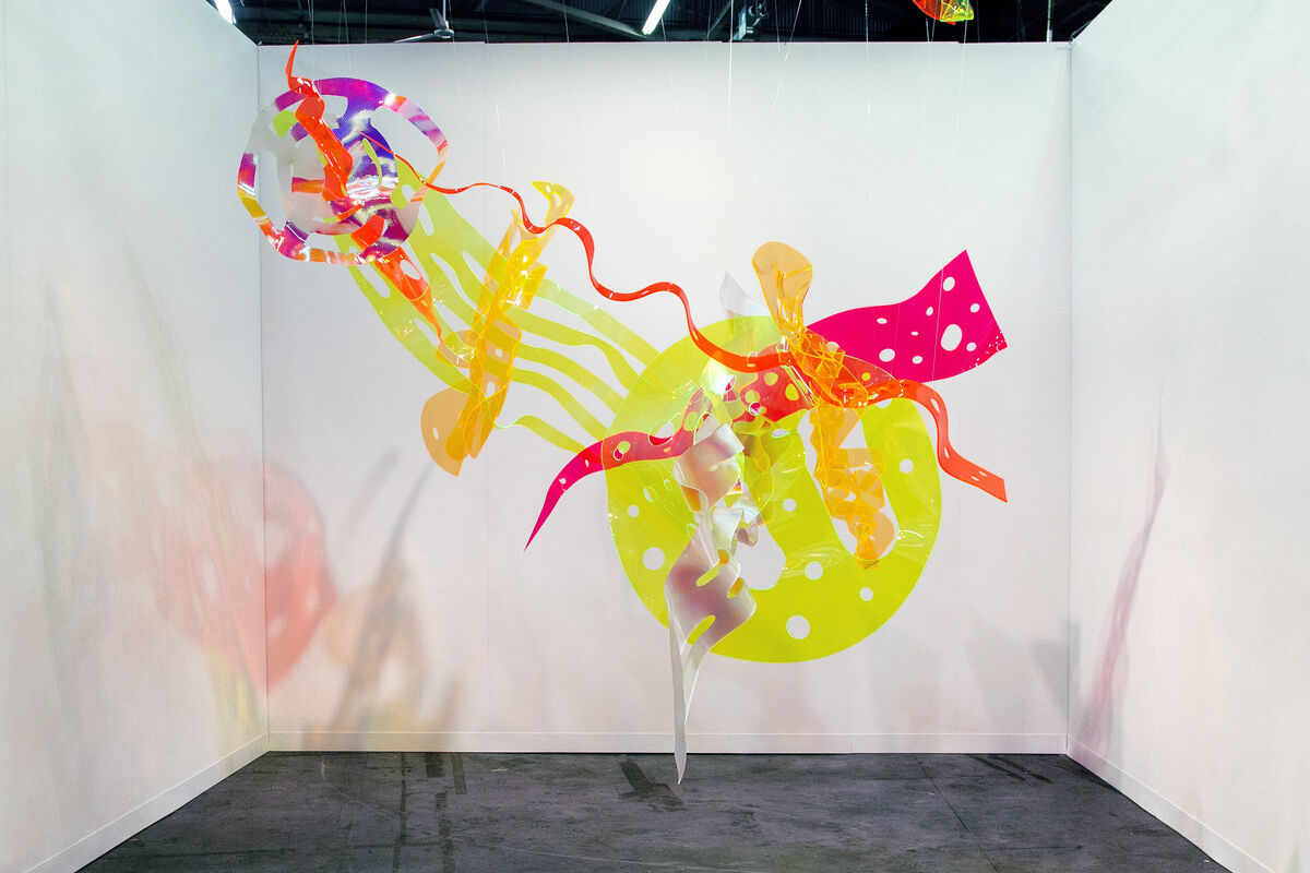 James Fuentes LLC's booth at The Armory Show 2015. Photo by Christophe Tedjasukmana for Artsy