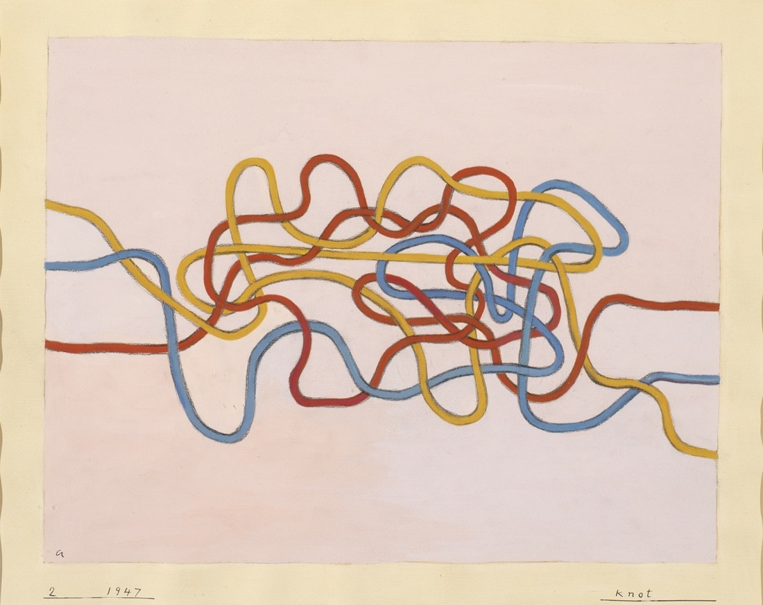 Anni Albers, Knot 2, 1947. © 2017 The Josef and Anni Albers Foundation/Artists Rights Society (ARS), New York Photo: Tim Nighswander/ Imaging 4 Art.
