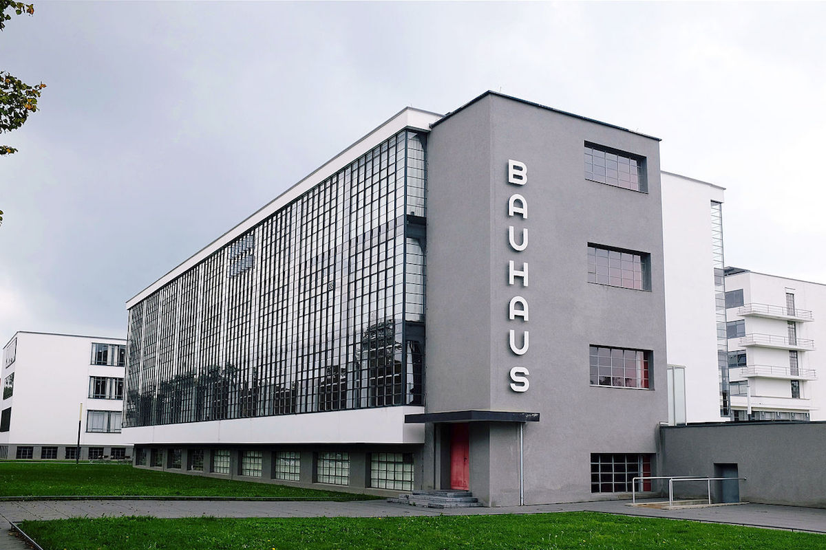 The Bauhaus Dessau Foundation. Photo by Spyrosdrakopoulos