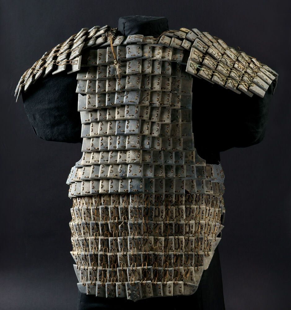 Armor, Qin dynasty, 221-206 BC. Courtesy of the Cincinnati Art Museum.