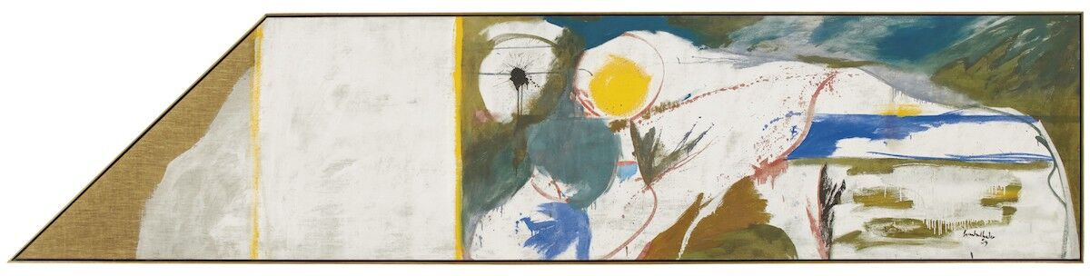 Helen Frankenthaler, Beach Horse, 1959. Courtesy Christie's.