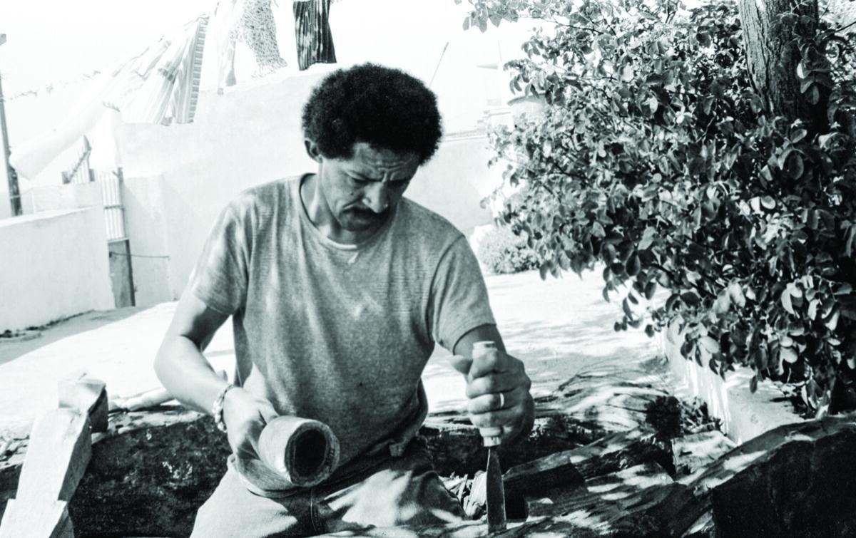 Jack Whitten, Agia Galini, 1973. Courtesy of the artist's estate.