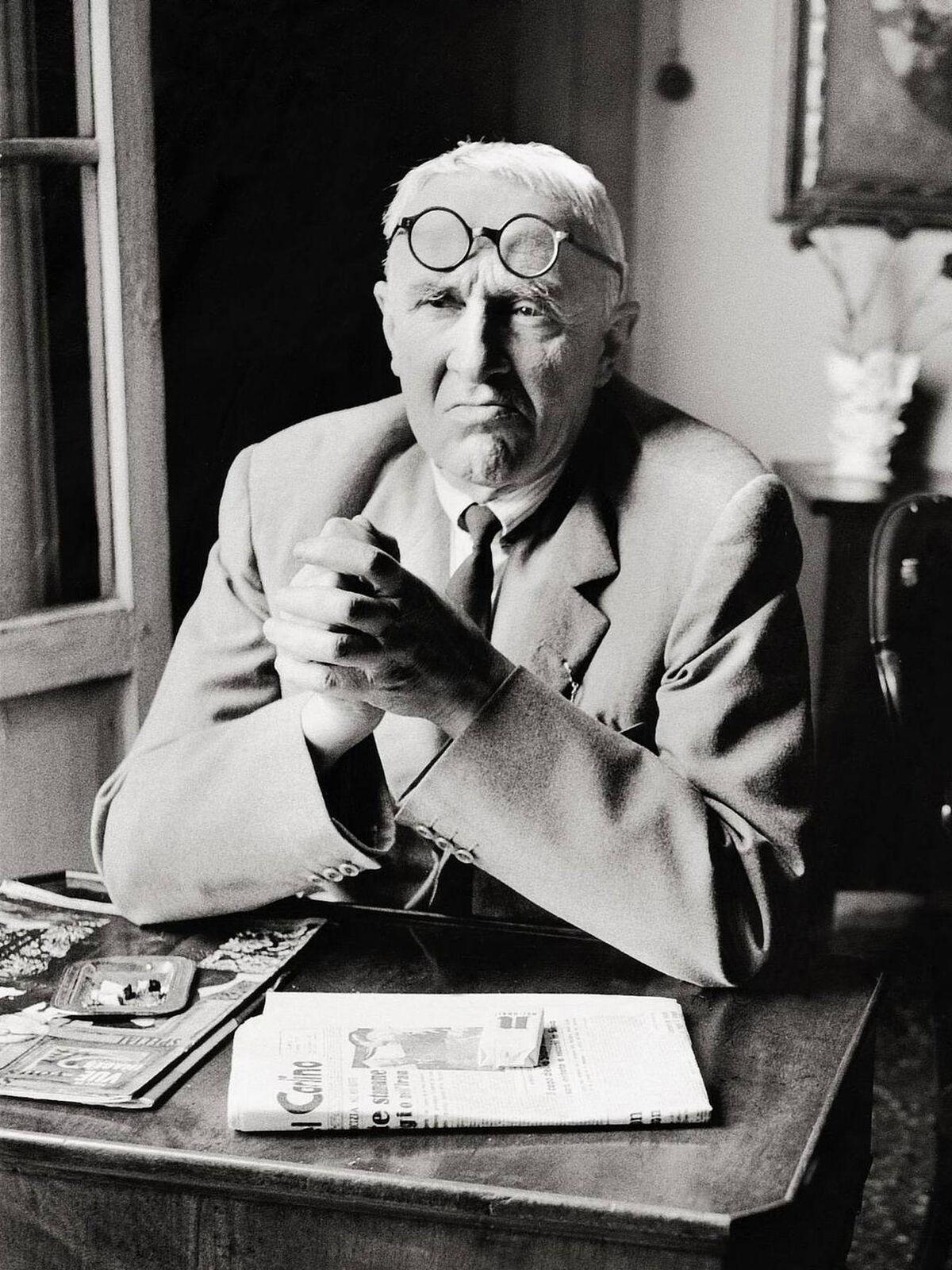 Portrait of Giorgio Morandi, via Wikimedia Commons.