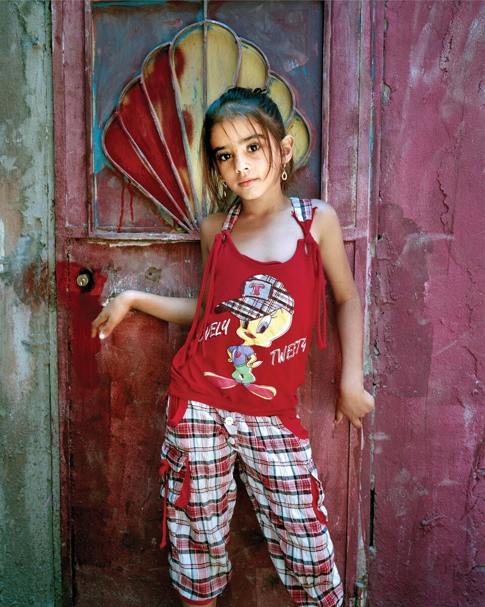 Rania Matar, Alia 9, Bourj El Barajneh Refugee Camp, Beirut, Lebanon, 2011. Courtesy of the artist, Robert Klein Gallery, Boston, and Galerie Tanit, Beirut.