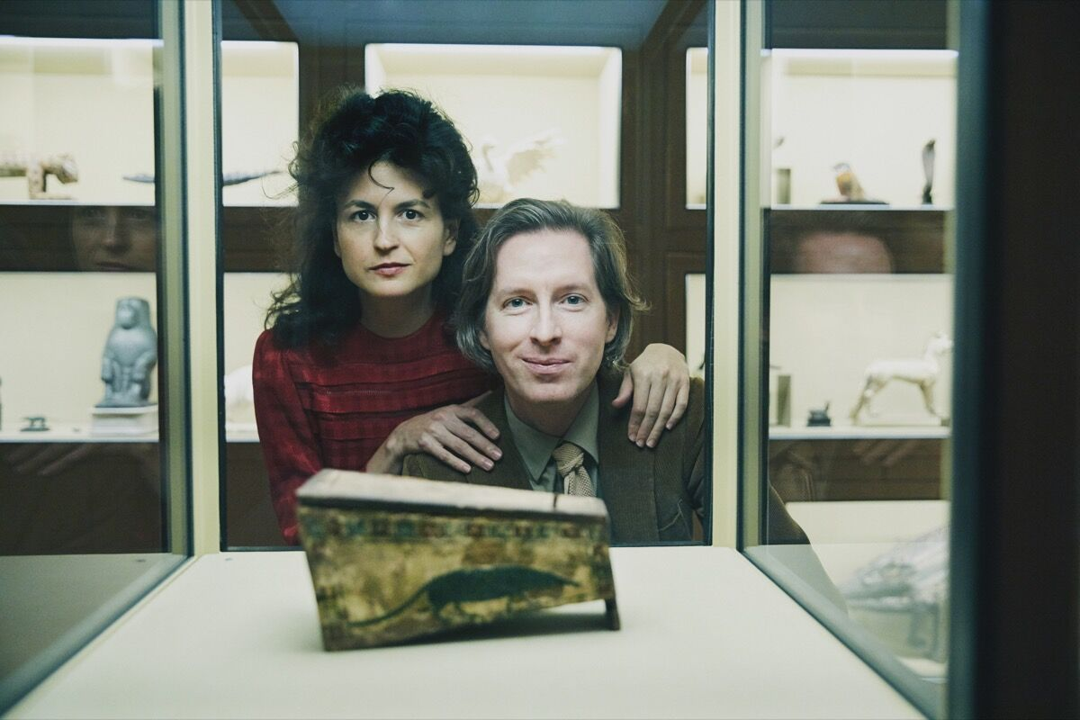 Wes Anderson and Juman Malouf. Photo by Rafaela Proell. © KHM-Museumsverband.