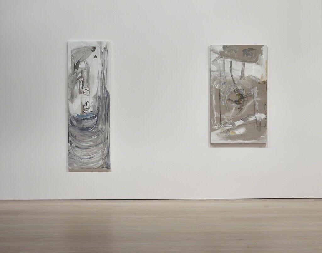 Installation view of Varda Caivano atVictoria Miro, London.CourtesyVictoria Miro and the artist