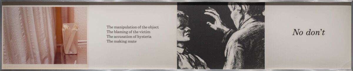 Barbara Kruger, Untitled (Body), 1978. © Barbara Kruger. Courtesy of Mary Boone Gallery, New York.
