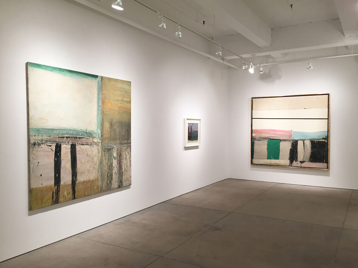 "Installation view of ""Alfred Leslie: Abstraction 1951-1962"" at Allan Stone Projects, New York. Courtesy Allan Stone Projects and the artist."