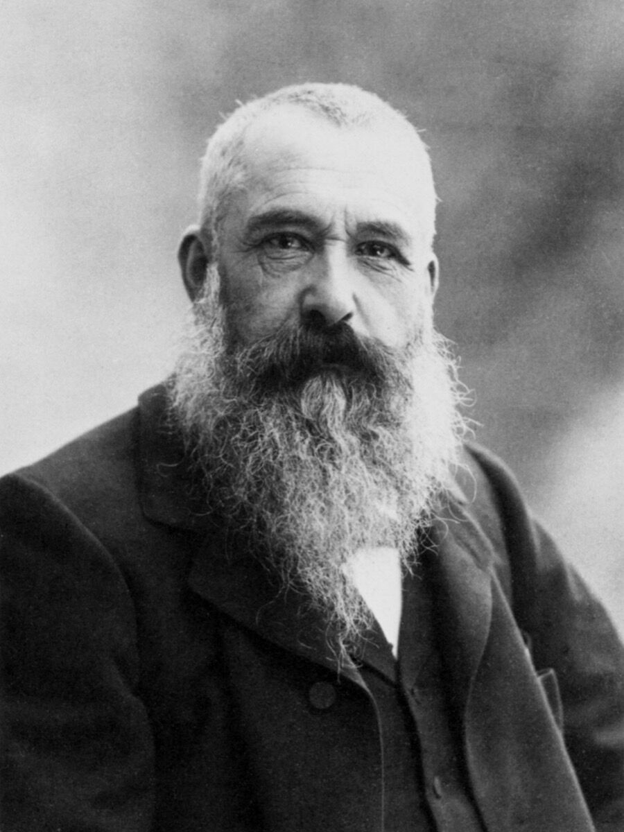 Nadar, Portrait of Claude Monet, 1899. Photo via Wikimedia Commons.