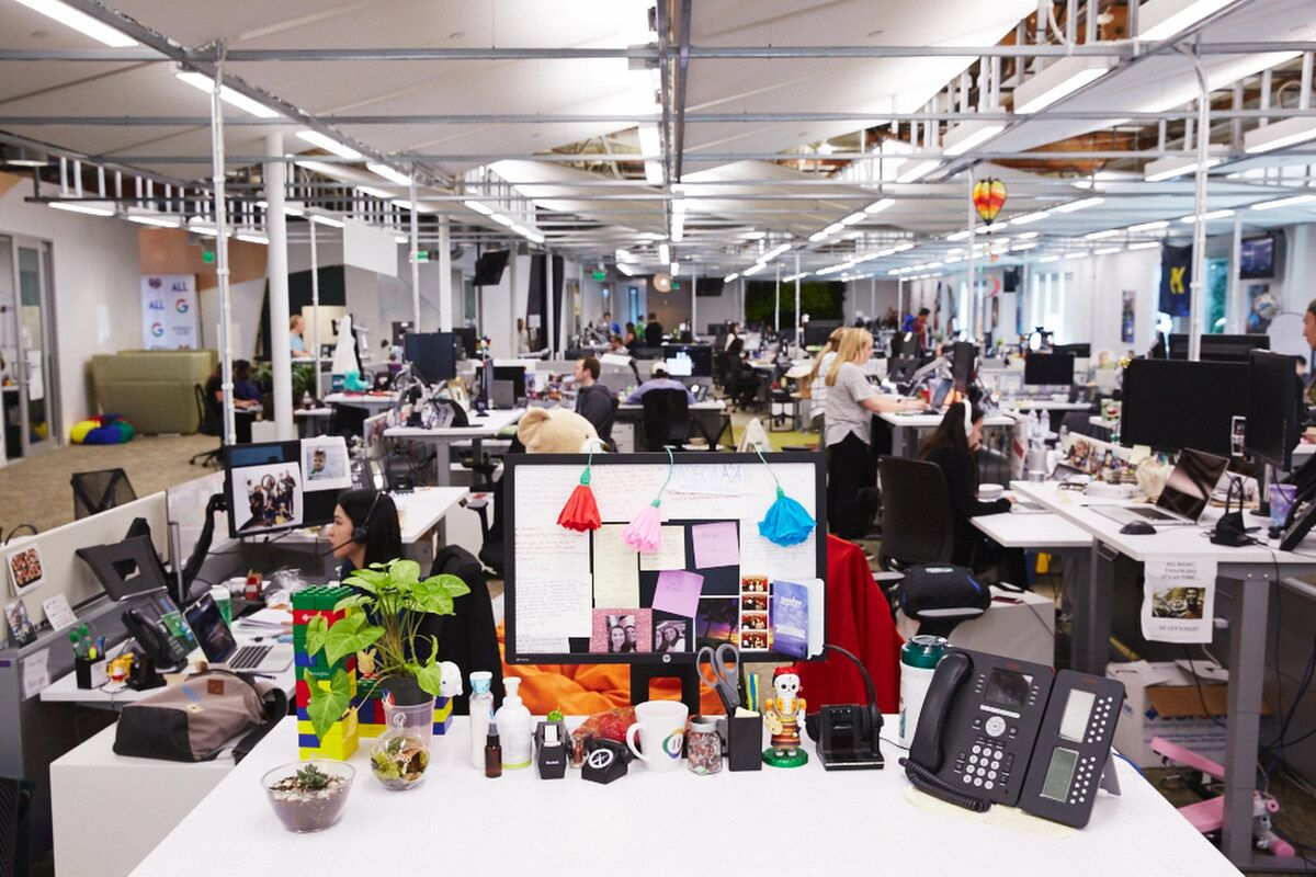 Office at Google. Courtesy of Google.