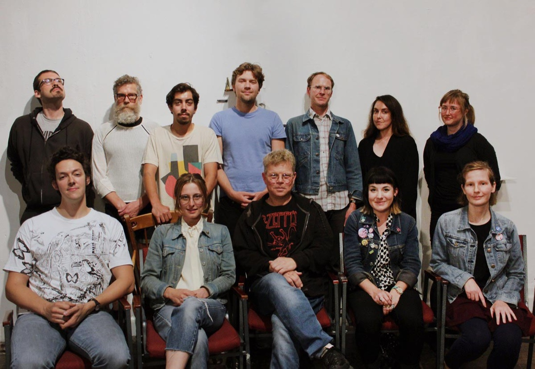 The staff of Artists' Television Access. Photo courtesy of Artists' Television Access.