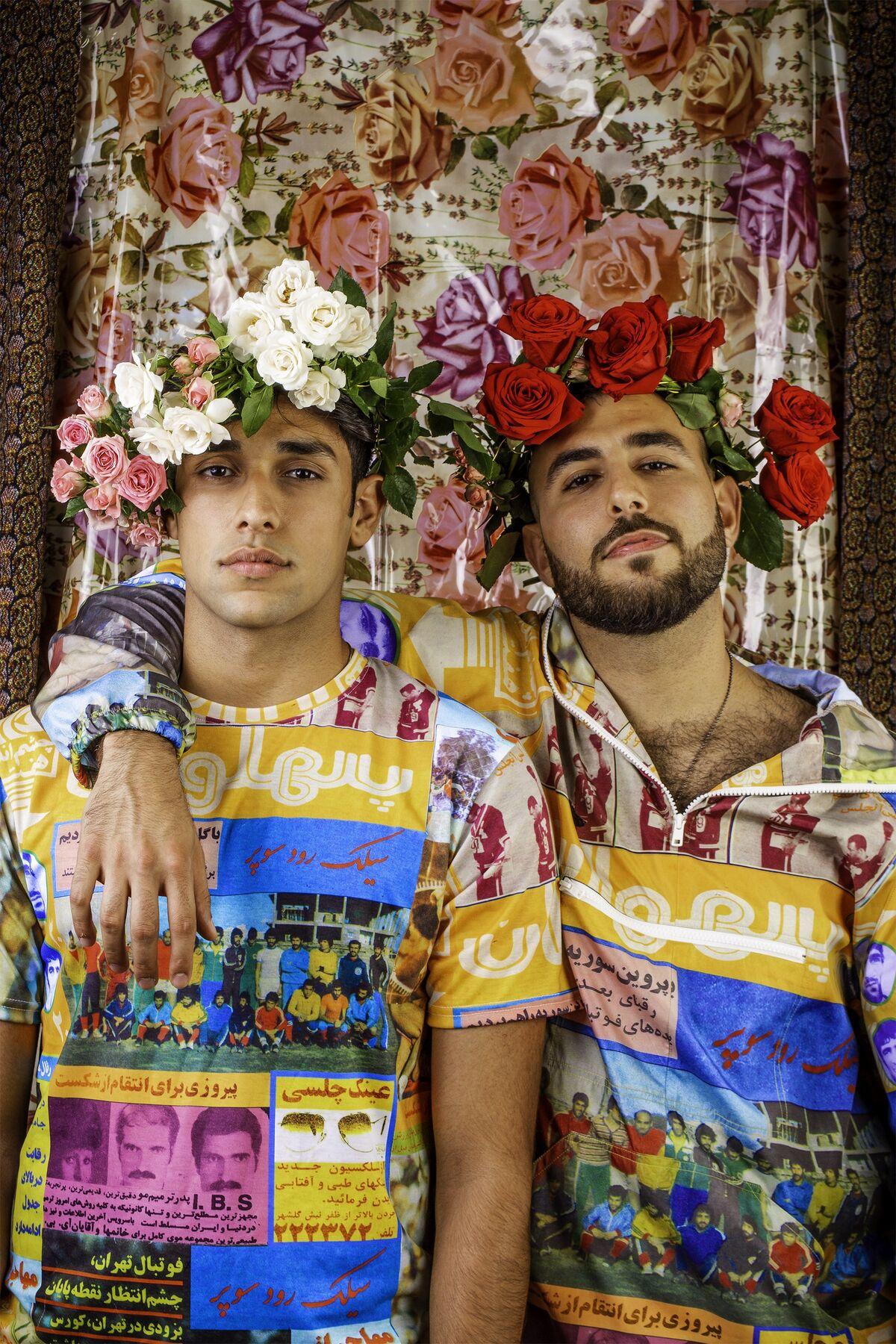 Hushidar Mortezaie and Jiyan Zandi, The Brotherhood, 2018. Courtesy of the artists.