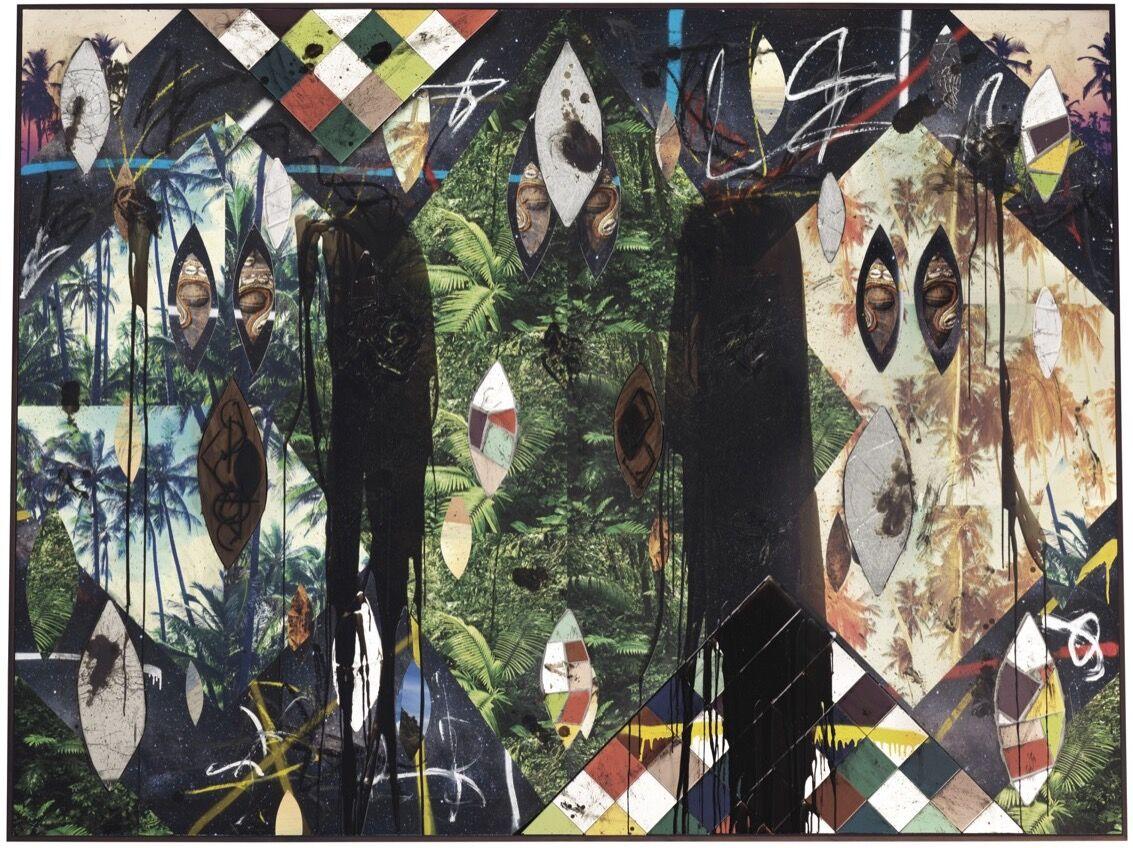 Rashid Johnson, Untitled Escape Collage, 2018. Courtesy of Christie's.