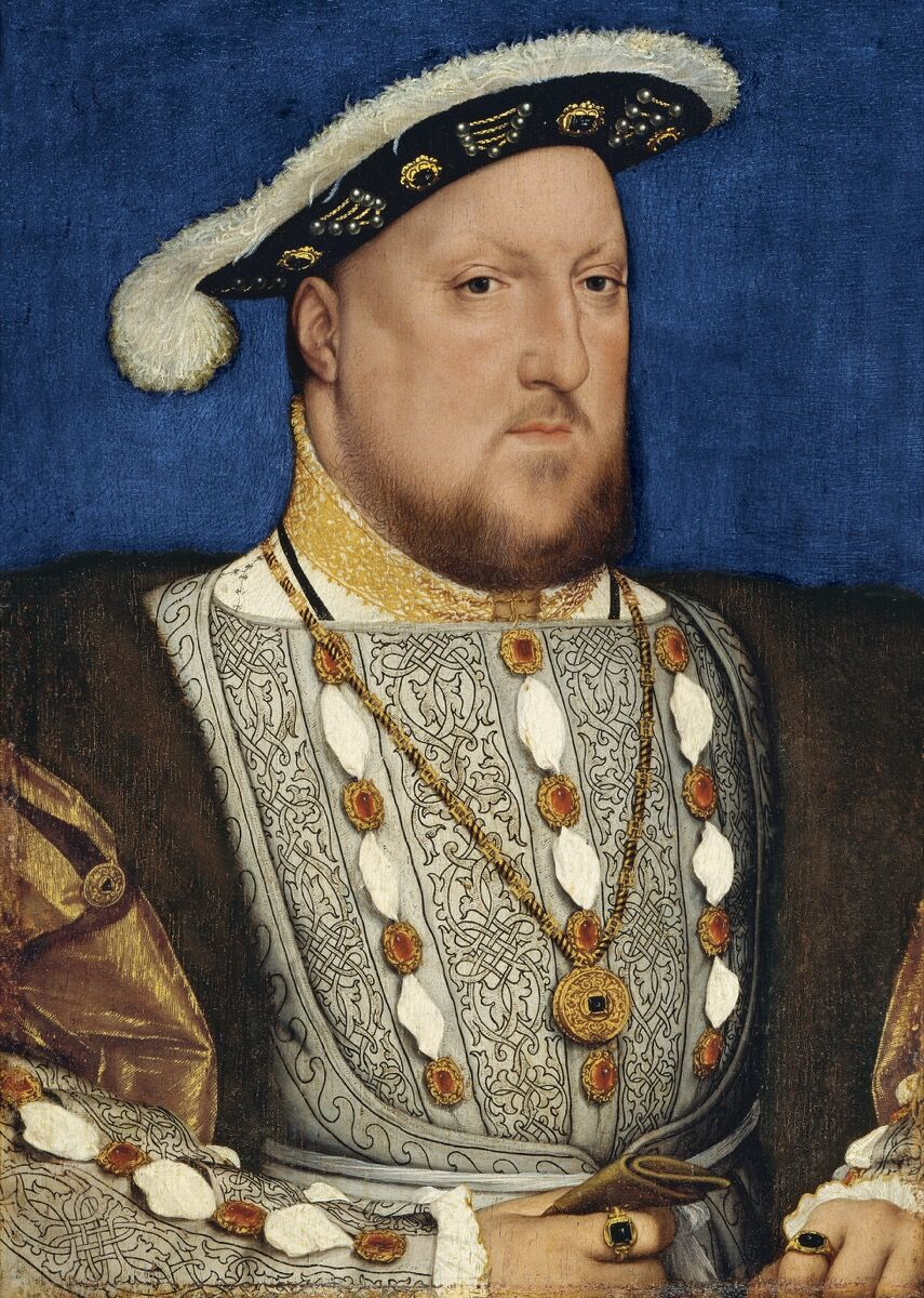 Hans Holbein the Younger, Portrait of Henry VIII of England, ca. 1537. © Museo Nacional Thyssen-Bornemisza, Madrid.