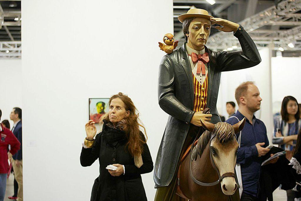 David Zwirner's Booth.CourtesyArt Basel in Hong Kong 2015, MCH Messe Schweiz (Basel) AG.