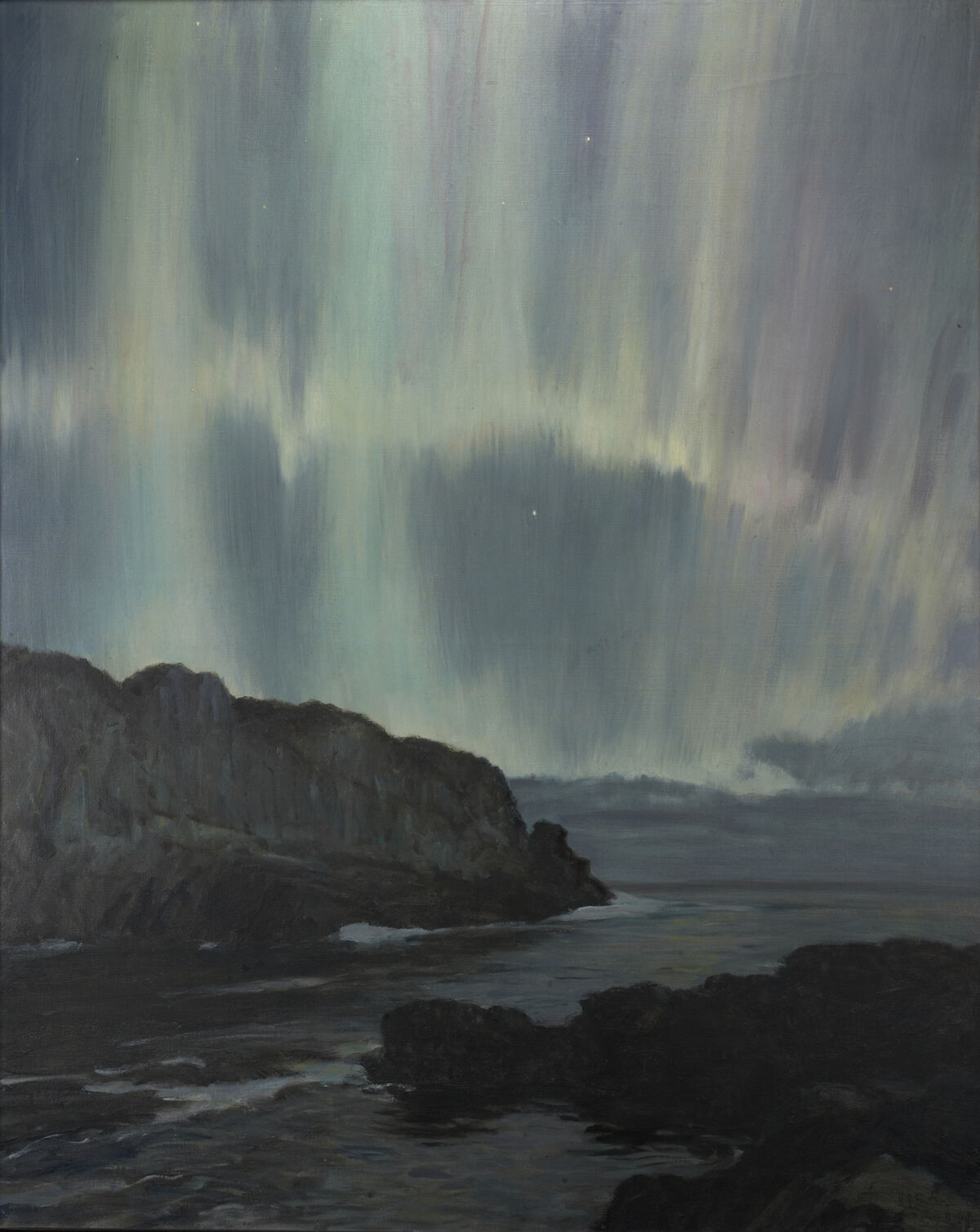Howard Russell Butler, Northern Lights, Ogunquit, Maine. Courtesy of Princeton University, gift of H. Russell Butler Jr..