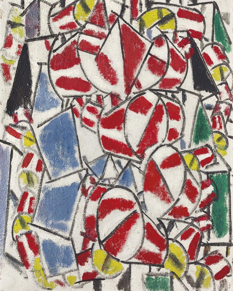 Fernand Léger, Contraste de formes, 1913. Per gentile concessione di Christie's.