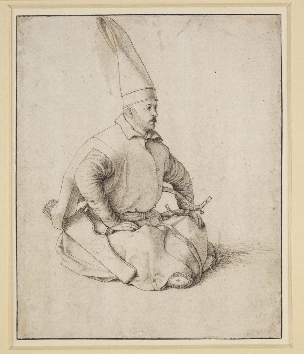 Gentile Bellini, A Turkish Janissary, c. 1480. Courtesy of the British Museum, London.