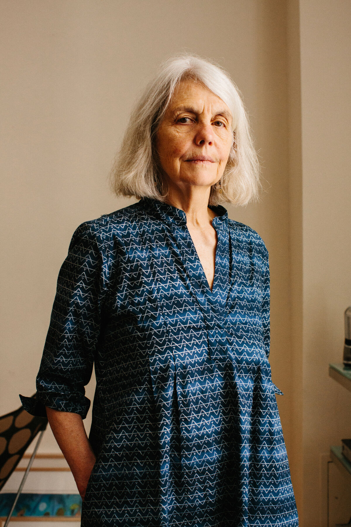 Portrait of Sally Saul by Stephanie Noritz for Artsy.