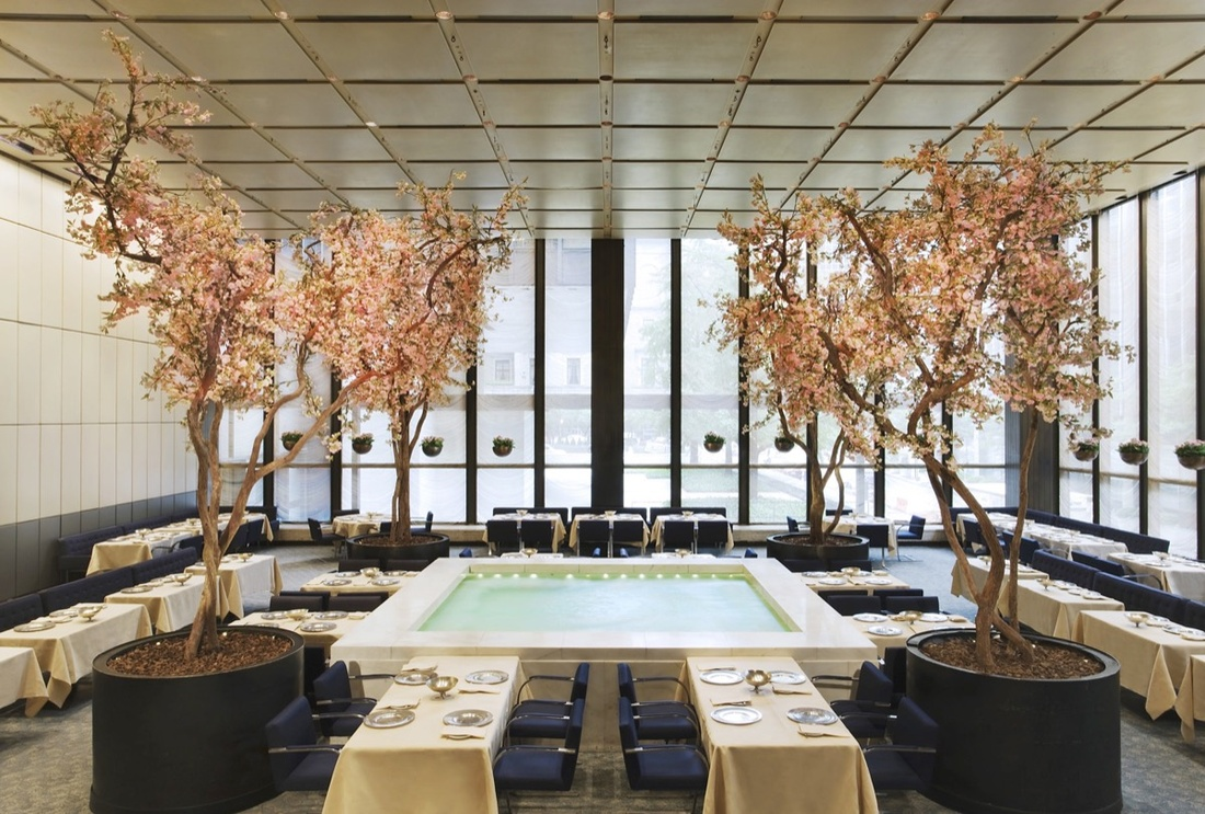 Interior view of the Four Seasons, New York. Image by Jennifer Calais Smith.