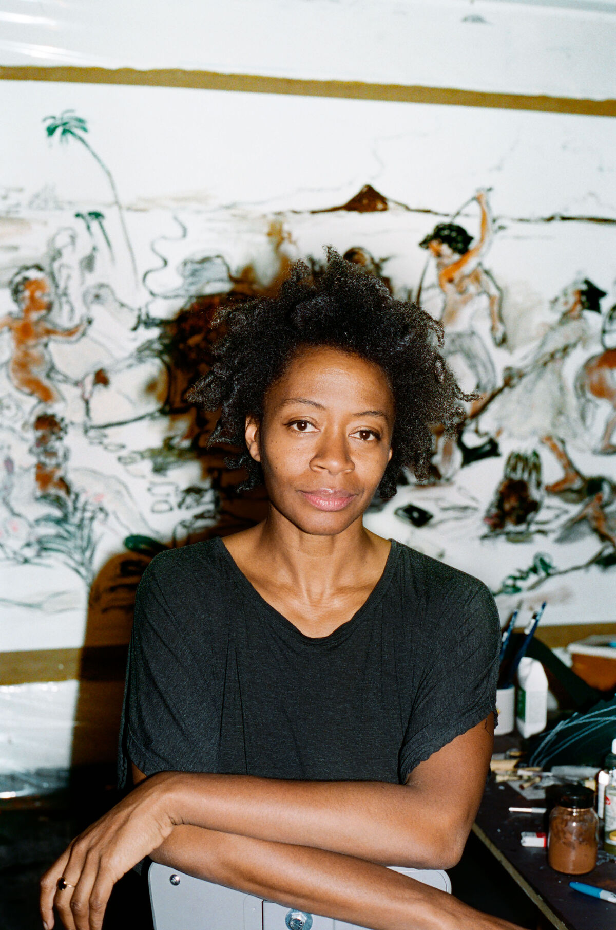 Portrait of Kara Walker. Photo by Ari Marcopoulos. Courtesy of Sikkema Jenkins & Co., New York.