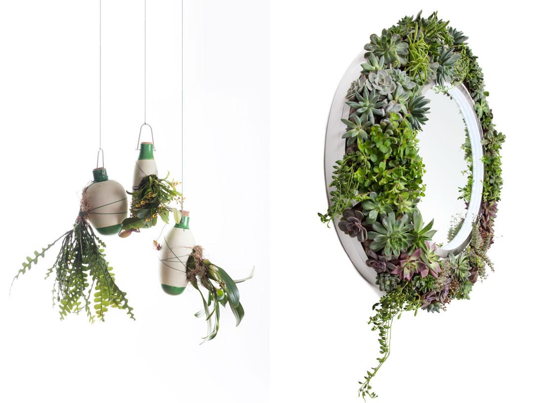 "Dossofiorito,""Epiphytes."" Photo by Federico Villa;Boris X Greenworks, Planet Mirror. Image courtesy of Boris Design Studio."