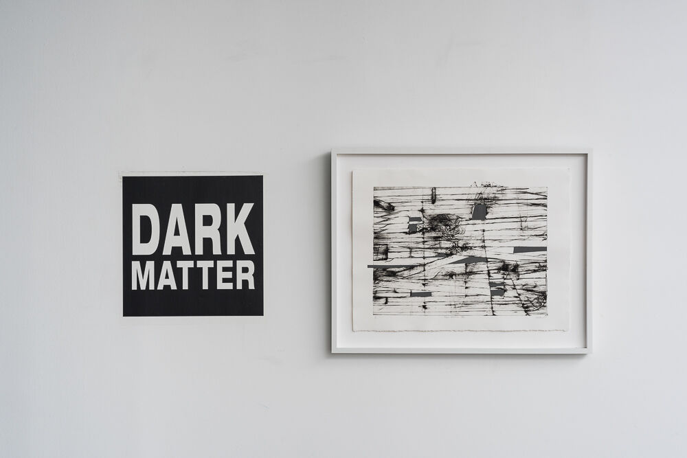 "Installation view ""Dark Matter,"" on view at Litvak Contemporary, Tel Aviv, 2015. Courtesy Litvak Contemporary."
