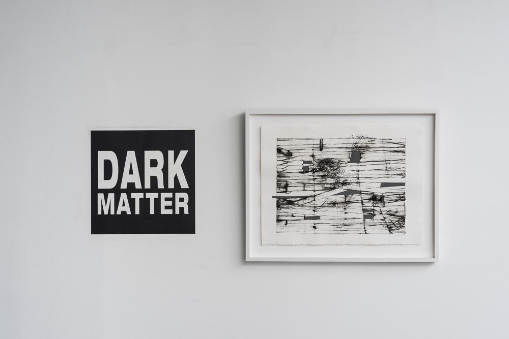 "Installation view ""Dark Matter,"" on view at Litvak Contemporary, Tel Aviv, 2015. Courtesy Litvak Contemporary."