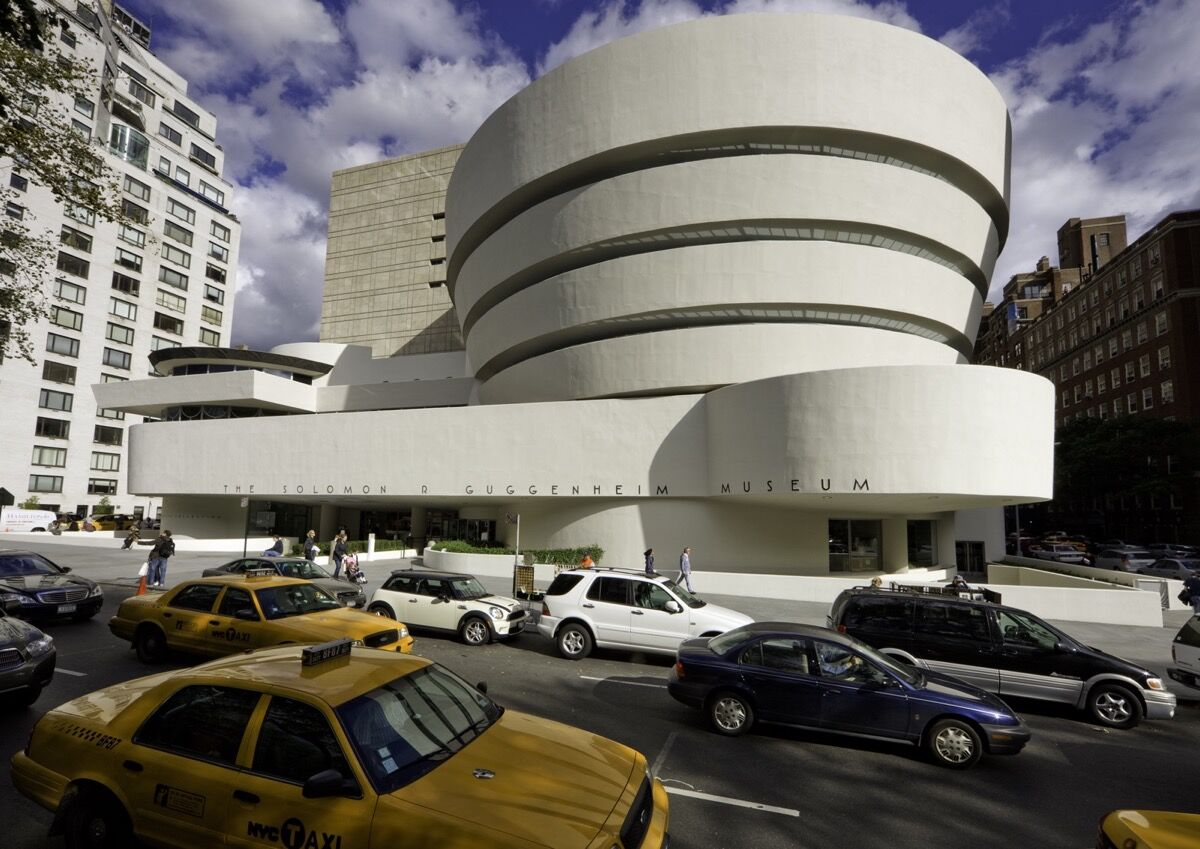 Solomon R. Guggenheim Museum Restoration Completion Photograph by David Heald. © The Solomon R. Guggenheim Foundation, New York.