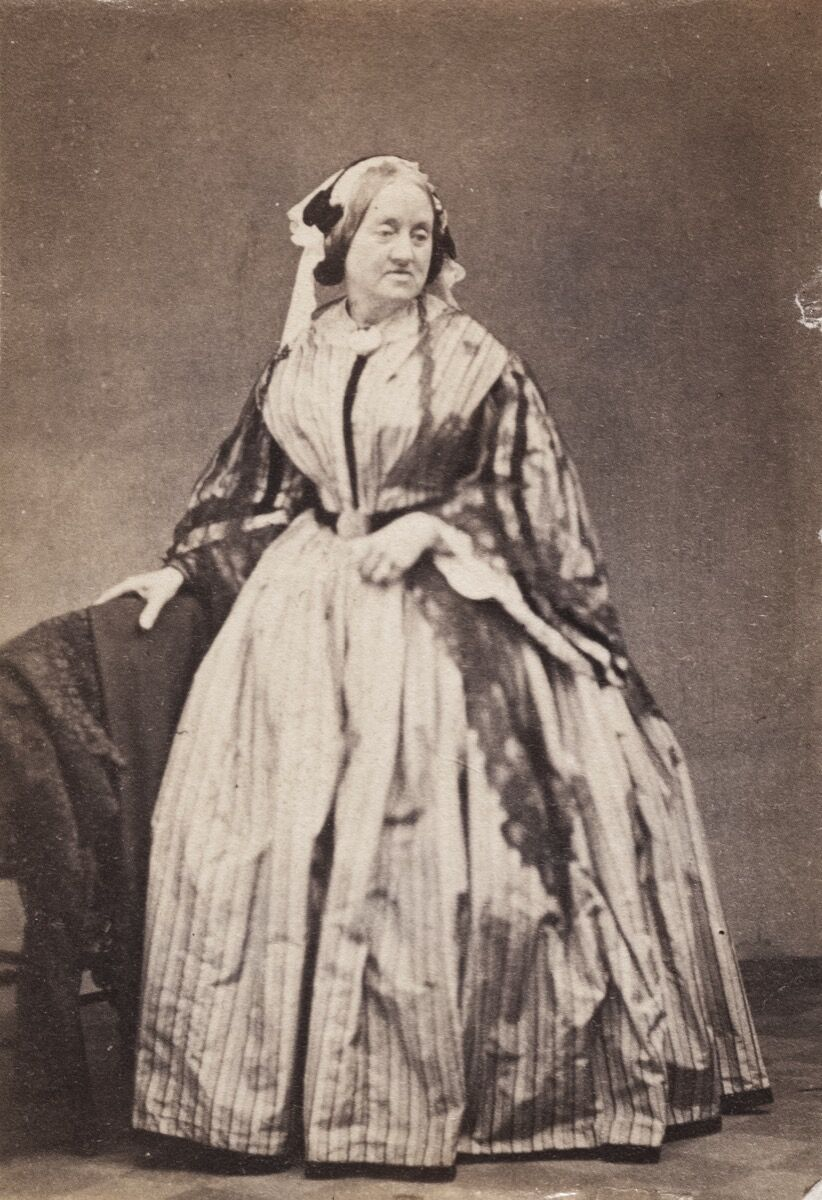 Unknown photographer, Portrait of Anna Atkins, ca. 1862. From the Nurstead Court Archives. Courtesy of The New York Public Library.