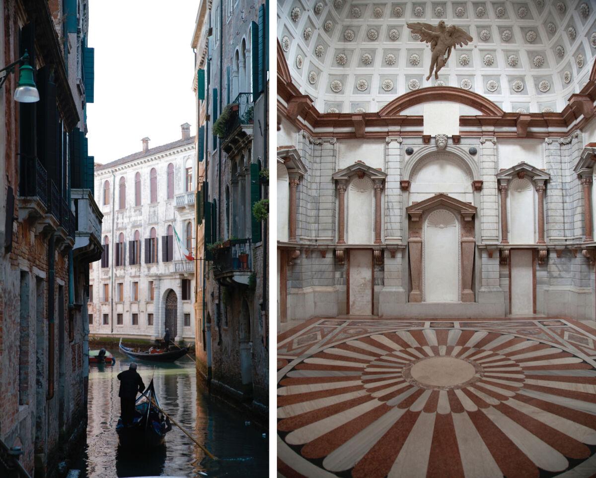 ViewsofMuseo di Palazzo Grimani, Venice. Courtesy Sundaram Tagore Gallery.