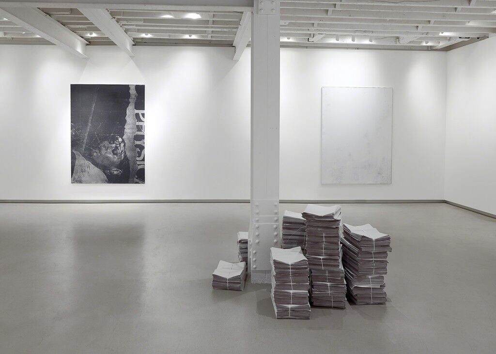 "Installation view of ""Glances Closer to Blindness,"" courtesy of RH Contemporary Art."