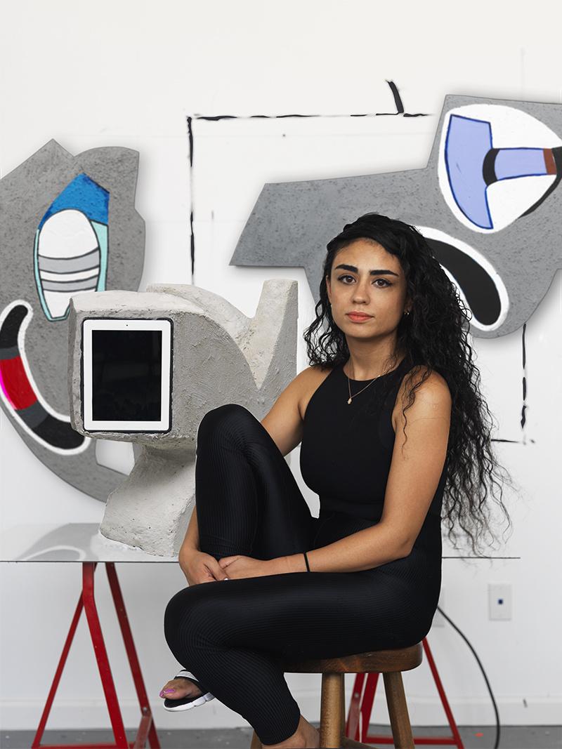 Portrait of Hayal Pozanti byMatt Grubb.