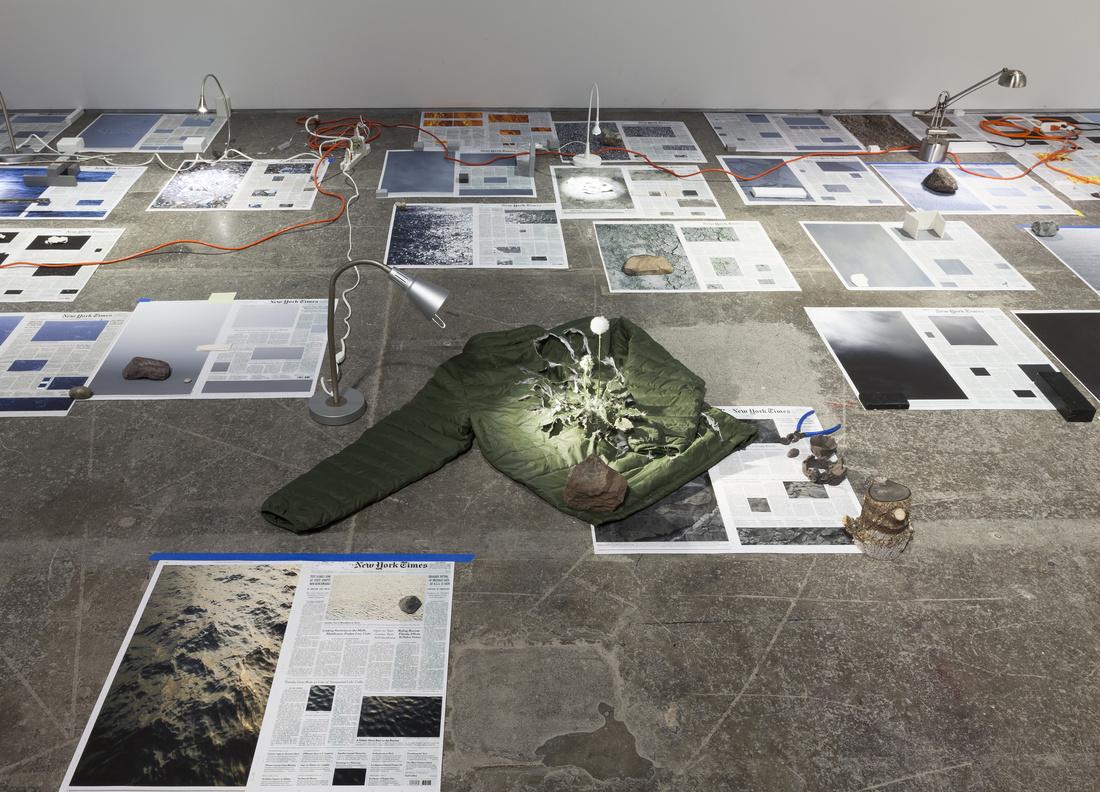"Sarah Sze,Installation view, Sarah Sze,""Calendar Series,"" 2013-2015 at Victoria Miro,Wharf Road.Courtesy the Artist and Victoria Miro, London. © Sarah Sze."