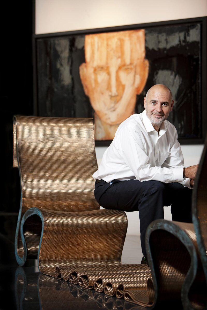 Portrait of Gilles Dyan. © Noblesse