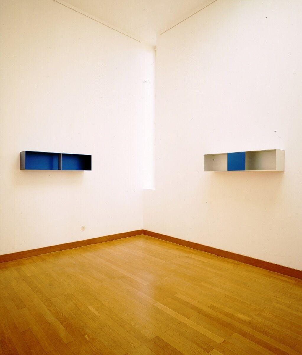 Donald Judd, Untitled, 1991. Donald Judd ©Judd Foundation. Courtesy of Galerie Gmurzynska.