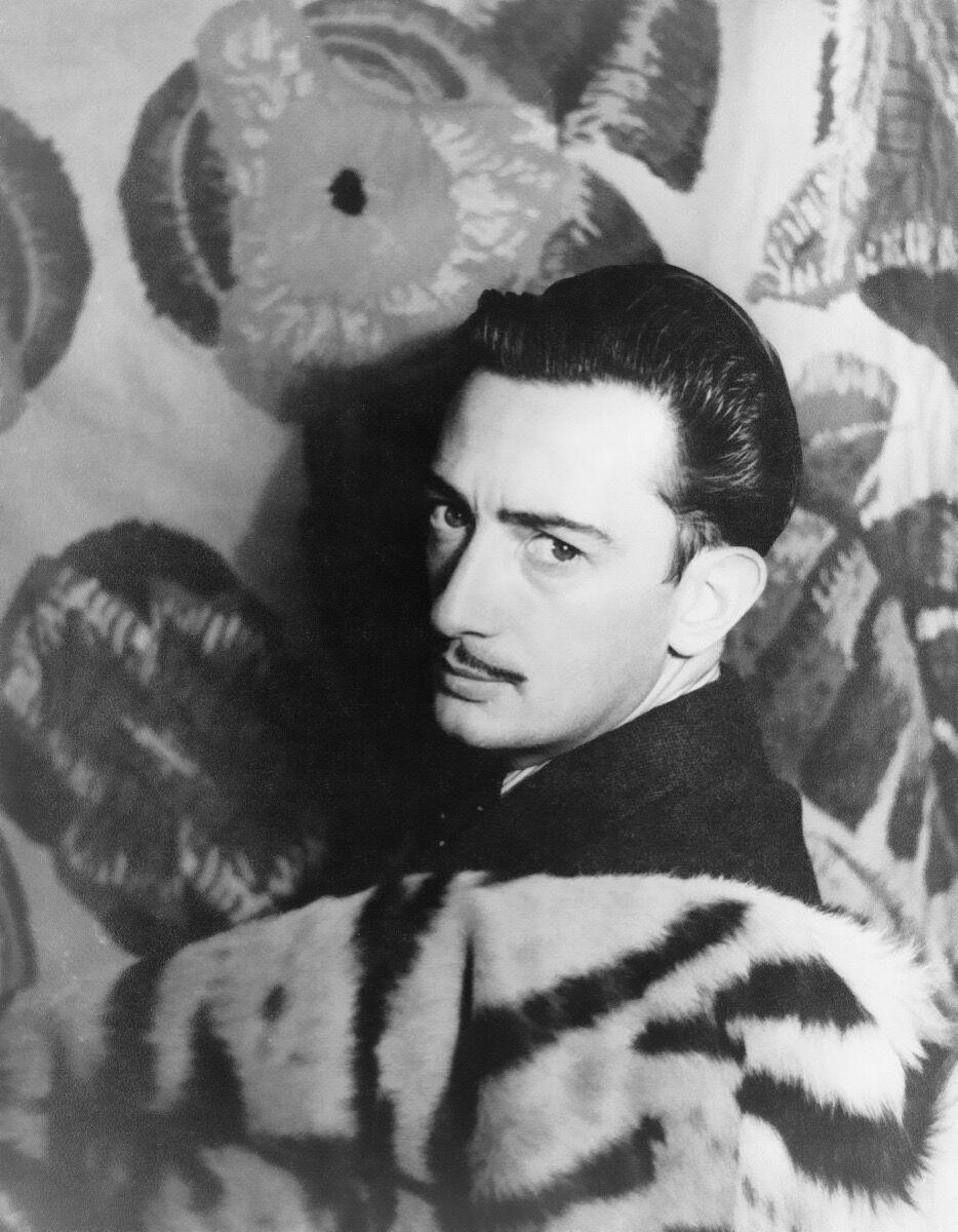 Portrait of Salvador Dalí by Carl Van Vechten. Image via Wikimedia Commons.
