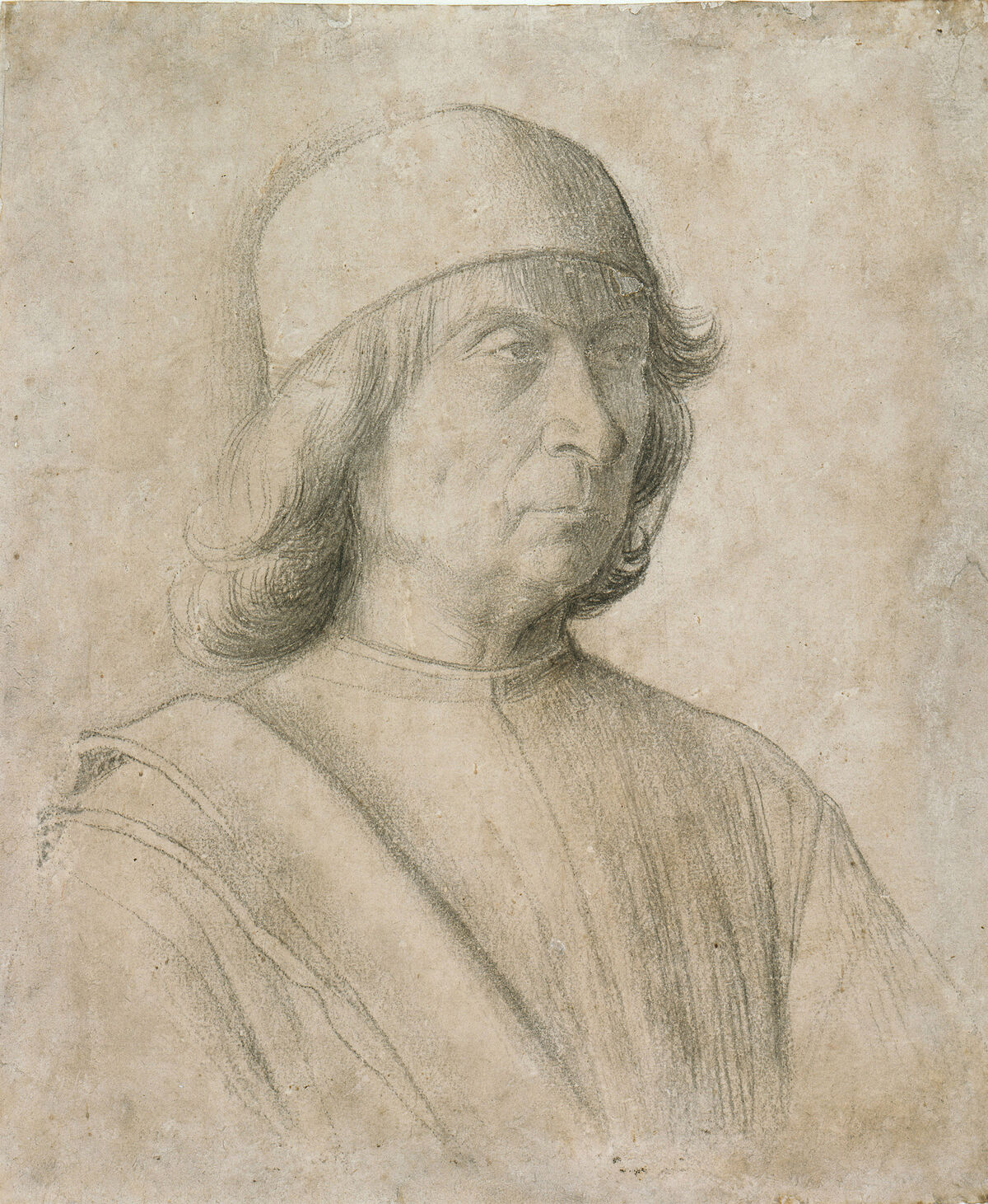 Gentile Bellini, Self-Portrait, c. 1496-97. Photo via Wikimedia Commons.