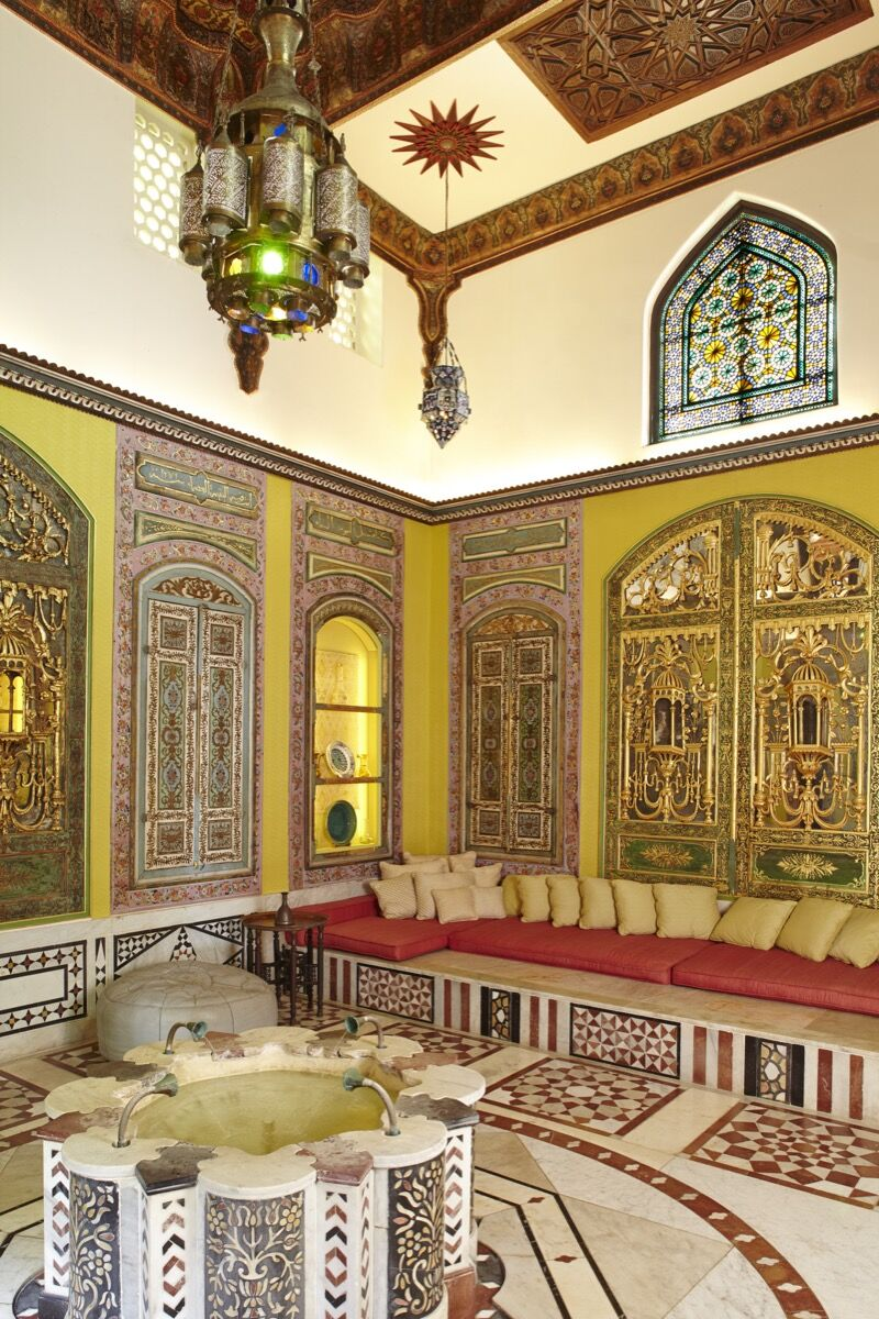 Syrian Room. © 2014 Linny Morris. Courtesy of the Doris Duke Foundation for Islamic Art.