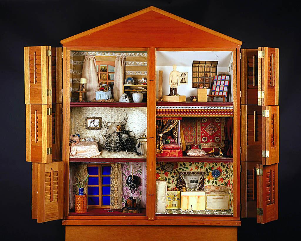 Miriam Schapiro and Sherry Body, Dollhouse, 1972. Courtesy of Smithsonian American Art Museum.