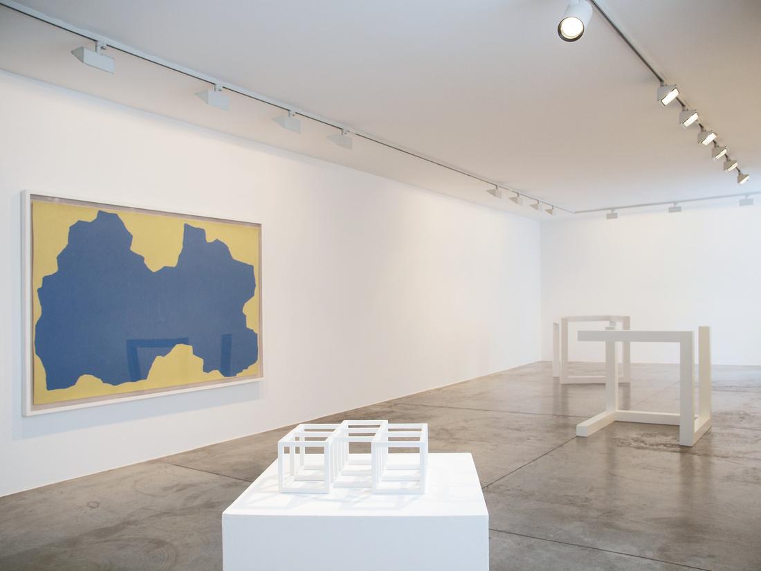 "Installation view of ""Sol Lewitt"" at Cardi Gallery, Milan. Courtesy of Cardi Gallery, Milan."