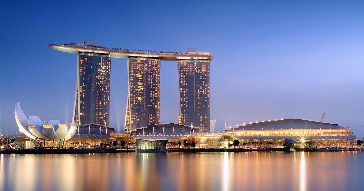 The Sands Expo and Convention Centre at Marina Bay Sands in Singapore will host the inaugural ART SG fair in November 2019. Photo via Wikimedia Commons.