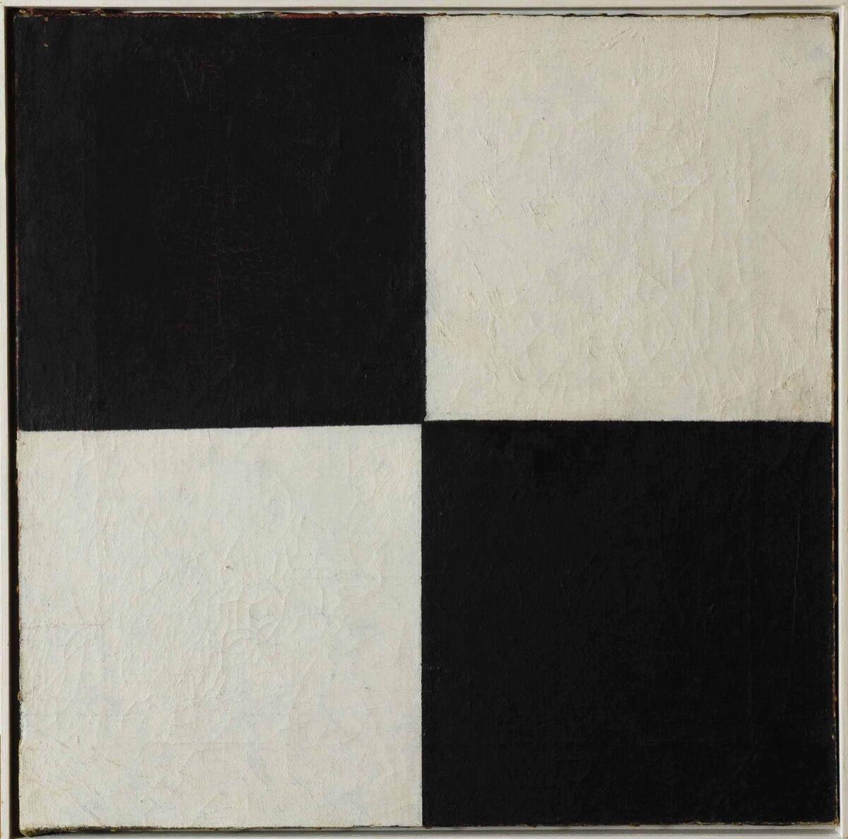Kazimir Malevich, Four Squares, 1915. Courtesy of the Museo Nacional Centro de Arte Reina Sofía.