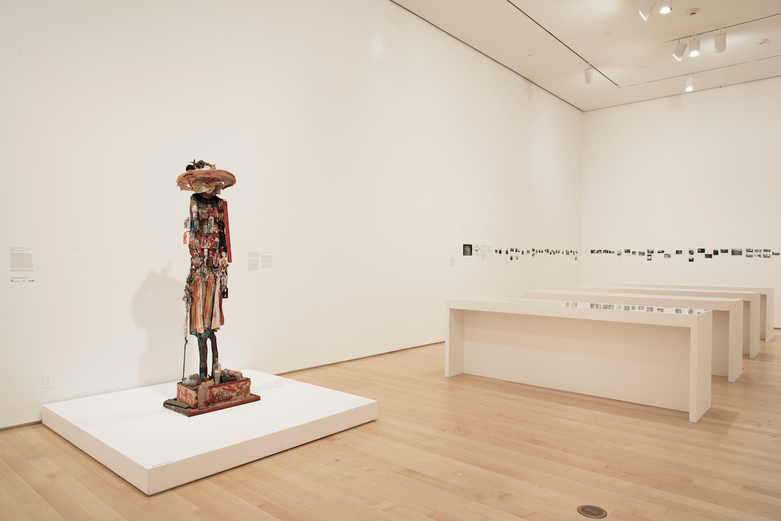 """Installation view of """"Beverly Buchanan—Ruins and Rituals"""" at Brooklyn Museum, Brooklyn (2016). Photo by Jonathan Dorado, courtesy of the Brooklyn Museum."""